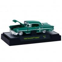 Imagem - Chevrolet: Impala (1958) - Auto Thentics - Verde - 1:64 - M2 Machines