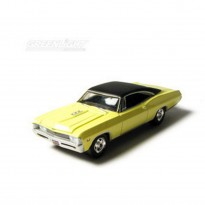 Imagem - Chevrolet: Impala SS 427 (1967) - Under The Hood - Amarelo - 1:64 - Greenlight