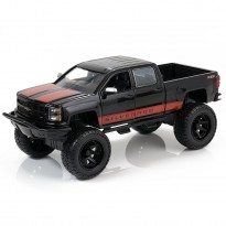Imagem - Chevrolet: Silverado (2014) - Just Trucks Off-Road - Preto - 1:24 - Jada
