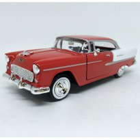 Imagem - Chevrolet: Bel Air (1955) - Vermelha - 1:24 - Motor Max