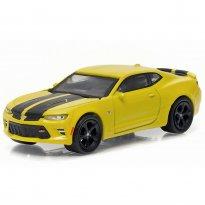 Imagem - Chevrolet: Camaro SS (2016) - Amarelo - GL Muscle - Série 16 - 1:64 - Greenlight
