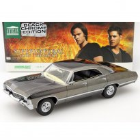 Imagem - Chevrolet: Impala Sport Sedan (1967) - Black Chrome Edition - Supernatural - 1:18 - Greenlight