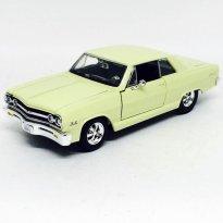 Imagem - Chevrolet: Malibu SS (1965) - Amarelo - 1:24 - Maisto