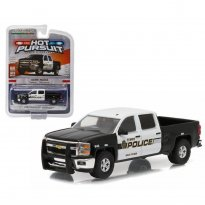 Imagem - Chevrolet: Silverado (2015) - Hot Pursuit - Série 19 - 1:64 - Greenlight