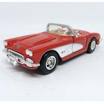 Imagem - Chevrolet: Corvette Conversível - Vermelho - (1959) - 1:24 - Motor Max