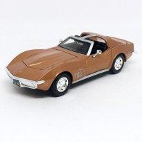 Imagem - Chevrolet: Corvette (1970) - Marrom - 1:24 - Maisto