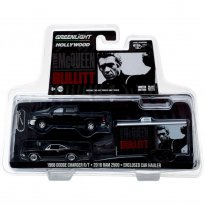Imagem - Dodge: Charger R/T (1968) / Dodge: Ram 2500 (2016) c/ Trailer - Steve McQueen Bullitt - Hitch & Tow Hollywood - Series 2 - 1:64 - Greenlight