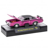 Imagem - Dodge: Charger R/T 440 6-Pack (1971) - Detroit Muscle - Rosa - 1:64 - M2 Machines