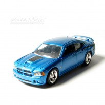 Imagem - Dodge: Charger SRT8 Super Bee (2008) - Under The Hood - Azul - 1:64 - Greenlight