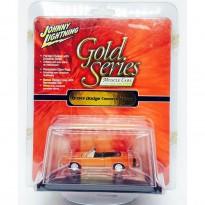 Imagem - Dodge: Coronet R/T Conversível (1969) - Laranja - Gold Series - 1:64 - Johnny Lightning
