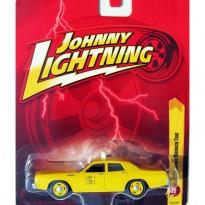 Imagem - Dodge: Monaco Táxi (1977) - Amarelo - 1:64 - Johnny Lightning
