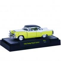 Imagem - Dodge: Royal Lancer (1955) - Auto Thentics - Amarelo e Branco - 1:64 - M2 Machines