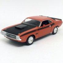 Imagem - Dodge: Challenger T/A (1970) - Laranja / Preto - 1:24 - Welly