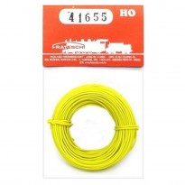Imagem - Fio para instalação elétrica flexível - Amarelo - HO - Frateschi