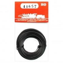 Imagem - Fio para instalação elétrica flexível - Preto - HO - Frateschi