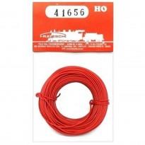 Imagem - Fio para instalação elétrica flexível - Vermelho - HO - Frateschi