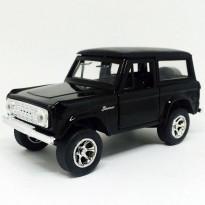Imagem - Ford: Bronco (1973) - Preto - Just Trucks - 1:32 - Jada