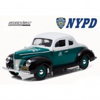 Imagem - Ford: Deluxe Coupe (1940) - City Of New York - Police - 1:18 - Greenlight