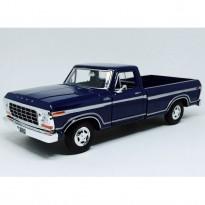 Imagem - Ford: F-150 Custom (1979) - Azul - 1:24 - Motormax