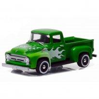 Imagem - Ford: F-100 (1956) - Motor World - Série 17 - 1:64 - Greenlight