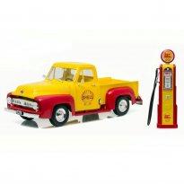 Imagem - Ford: F-100 Pickup - c/ Bomba de Gasolina (1953) - Shell - 1:18 - Greenlight