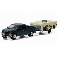 Imagem - Ford: F-150 c/ Camper Trailer (2015) - Hitch & Tow - Series 8 - 1:64 - Greenlight