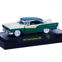 Imagem - Ford: Fairlane 500 - Auto Thentics - Verde e Branco - 1:64 - M2 Machines
