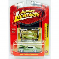 Imagem - Ford: Mercury Cougar (1969) - Verde - Classic Gold R38 - 1:64 - Johnny Lightning