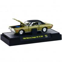 Imagem - Ford: Mercury Cougar XR-7G 390 (1968) - Detroit Muscle - Dourado - 1:64 - M2 Machines