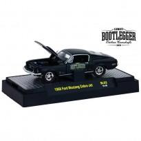 Imagem - Ford: Mustang Cobra-Jet (1968) - Bootlegger - Preto - 1:64 - M2 Machines