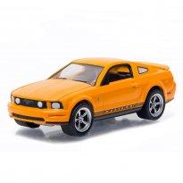 Imagem - Ford: Mustang GT (2009) - Amarelo - 1:64 - Greenlight