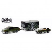 Imagem - Ford: Shelby GT500KR (1968) / Ford: F-150 (2015) c/ Trailer - Gas Monkey Garage - Hitch & Tow Hollywood - Series 1 - 1:64 - Greenlight