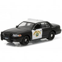 Imagem - Ford: Crown Victoria Police Interceptor - Hot Pursuit - Série 19 - 1:64 - Greenlight