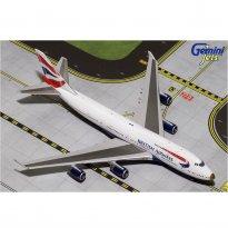 Imagem - British Airways: Boeing 747-400 - 1:400 - Gemini Jets