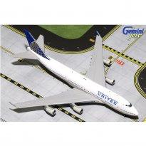 Imagem - United Airlines: Boeing 747-400 - 1:400 - Gemini Jets