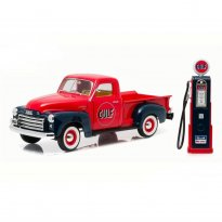 Imagem - GMC: 150 Pickup - c/ Bomba de Gasolina (1950) - Gulf Oil - 1:18 - Greenlight