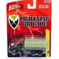 Imagem - GMC: 6x6 Truck - Lightning Brigade - Verde - 1:64 - Johnny Lightning
