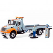Imagem - International DuraStar Flatbed - HD Trucks - Série 6 - c/ Figura - 1:64 - Greenlight
