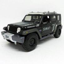 Imagem - Jeep: Rescue Concept - Police SWAT - Preto Fosco - 1:18 - Maisto