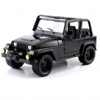 Imagem - Jeep: Wrangler - (1992) Just Trucks - Preto - 1:24 - Jada