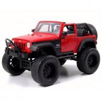 Imagem - Jeep: Wrangler (2007) - Off Road - Vermelho - 1:24 - Jada