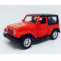 Imagem - Jeep: Wrangler (2014) - Vermelho e Preto - Just Trucks - 1:32 - Jada