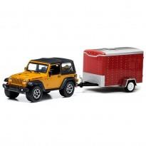 Imagem - Jeep: Wrangler Rubicon c/ Trailer (2014) - Hitch & Tow - Série 1 - 1:64 - Greenlight