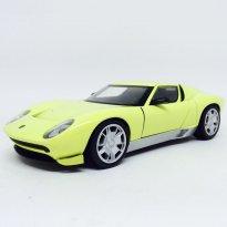 Imagem - Lamborghini: Miura Concept - Amarela - 1:24 - Motor Max