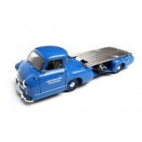 Imagem - Mercedes-Benz: Renntransporter (1954) - Azul - 1:18 - CMC