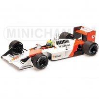 Imagem - McLaren Honda: MP4/4 (Campeão 1988) - #12 Ayrton Senna - 1:18 - Minichamps