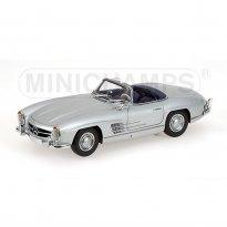 Imagem - Mercedes Benz: 300 SL Roadster (1957) - Prata - 1:18 - Minichamps