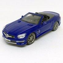 Imagem - Mercedes Benz: SL 63 AMG Conversível - Azul - 1:24 - Maisto