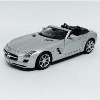 Imagem - Mercedes Benz: SLS AMG Roadster - Prata - 1:24 - Maisto
