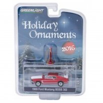 Imagem - Ford: Mustang Boss 302 (1969) - Holiday Ornaments - Série 1 - 1:64 - Greenlight